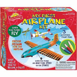 Poof Slinky Scientific Explorers My First Airplane Kit Crafts