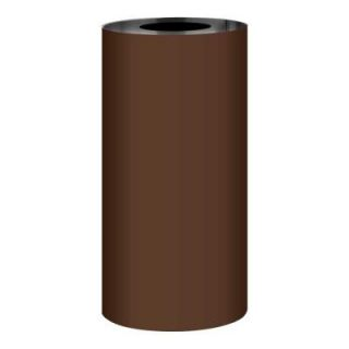Gibraltar Building Products Roll Valley 10 in. x 10 ft. Royal Brown over Birch White Aluminum Roll Flashing A999BW 10 10