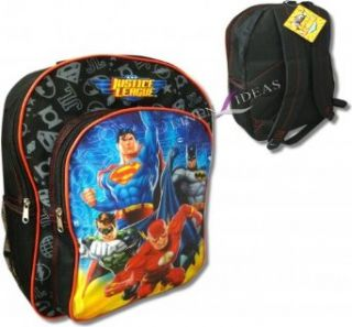 Justice League Superman, Flash, Green Lantern, Batman JL School Backpack Clothing