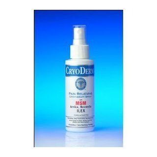 CryoDerm Pain Relieving Analgesic Cryotherapy Spray  4oz. Professional Strength