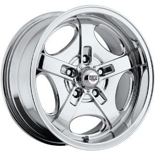 Rev Classic 101 17 Chrome Wheel / Rim 5x4.5 with a 0mm Offset and a 72.7 Hub Bore. Partnumber 101C 7806500 Automotive