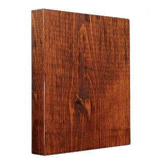 Wood Grain Look Binder