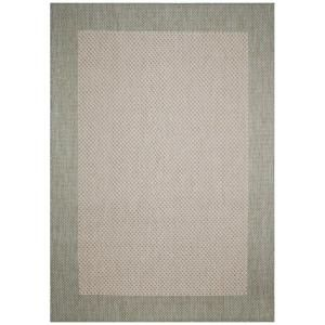 Direct Home Textiles Simple Border Sage 8 ft. x 11 ft. Indoor/Outdoor Area Rug DISCONTINUED 6776 96132 446