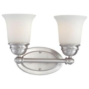 Thomas Lighting Bella 2 Light Brushed Nickel Bath Fixture SL714278