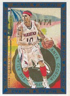 2008 09 Topps T 51 Murad Basketball #109 Mike Bibby Atlanta Hawks NBA Trading Card Sports Collectibles