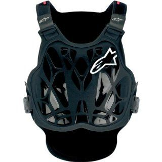 Alpinestars A 8 Light Protection Vest , Size OSFA, Distinct Name Black, Gender Mens/Unisex, Primary Color Black 6700114 123 Automotive