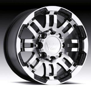 Vision Warrior 17 Black Wheel / Rim 8x6.5 with a 18mm Offset and a 123 Hub Bore. Partnumber 375 7881GBMF18 Automotive