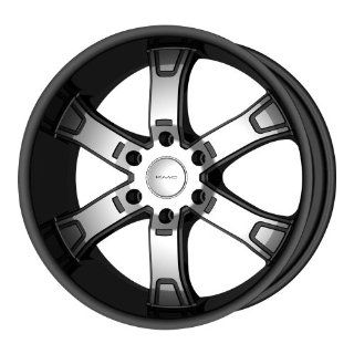 "KMC Wheels Brodie KM6715 Gloss Black Machined Wheel (22x9.5""/6x139.7mm) Automotive"