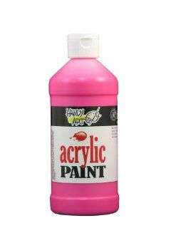 Handy Art by Rock Paint 101 155 Student Acrylic Paint, 1, Fluorescent Magenta, 16 Ounce