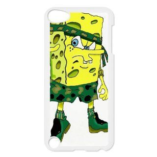 Personalized Music Case SpongeBob SquarePants iPod Touch 5th Case Durable Plastic Hard Case for Ipod Touch 5th Generation IT5SS137   Players & Accessories