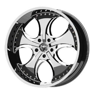 "KMC Wheels Venom KM7552 Chrome Finish Wheel (20x8.5""/6x139.7mm) Automotive"