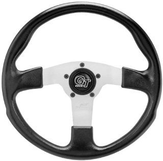 Grant GT Rally Steering Wheel   Black/Silver   13.5in. 161 14 Automotive