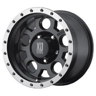 KMC XD Series XD 125 (20 x 9, 8 x 165.1/6.5) 0 Offset, Matte Blk WithMachined Bead Ring, (1) Wheel/Rim Automotive