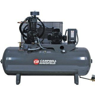 Campbell Hausfeld Fully Packaged Air Compressor 5 HP, 16.6 CFM @ 175 PSI,  Two Stage Air Compressors