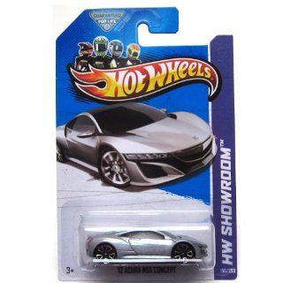 2013 Hot Wheels Hw Showroom [156/250]   '12 Acura NSX Concept   Silver Toys & Games