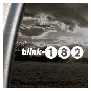 Blink 182 White Sticker Decal Punk Rock Band White Car Window Wall Macbook Notebook Laptop Sticker Decal   Decorative Wall Appliques