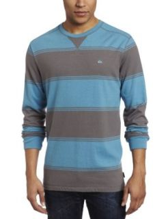 Quiksilver Men's Snits Lite Knit Sweater, Blue/Grey, XX Large at  Men�s Clothing store