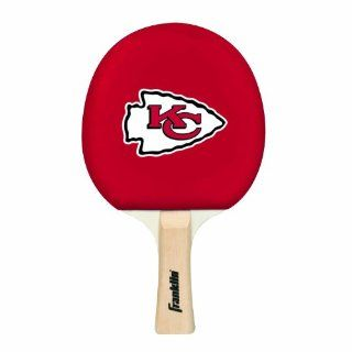 NFL Kansas City Chiefs Table Tennis Paddle  Sports Fan Games  Sports & Outdoors