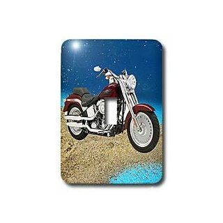 3dRose LLC lsp_4851_1Light Switch Cover Picturing Harley Davidson No.174 Motorcycle   Switch Plates
