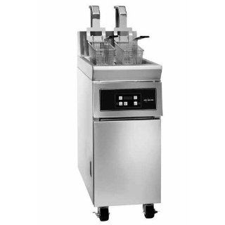 208/220V 3 Phase Alto Shaam ASF 60E 62 lb. Electric Open Fryer Kitchen & Dining