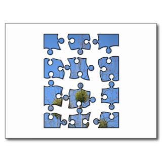 jigsaw puzzle 4x3 post cards