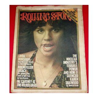 Rolling Stone Magazine March 27, 1975 Issue 183 Linda Ronstadt Cover Books
