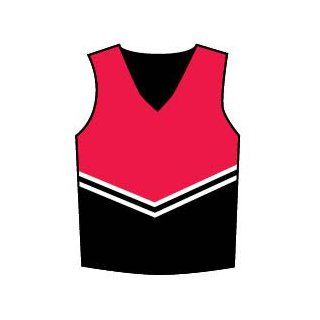 Youth Victory Uniform Shell, YXS Blk/Red Clothing