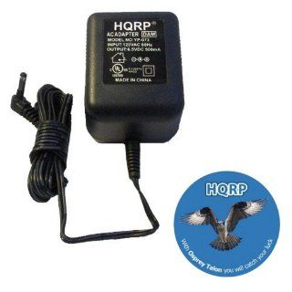 HQRP AC Adapter / Power Supply compatible with Panasonic PQLV209 / PQLV209T / PQLV209V Replacement plus HQRP Coaster Electronics