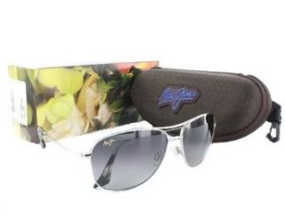 New Maui Jim Cliff House GS247 17 Gunmetal / Neutral Grey 59mm Polarized Sunglasses Clothing