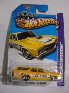 Hot Wheels HW Showroom 2013 '70 Chevelle SS Wagon 248/250 Toys & Games