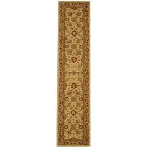Safavieh Anatolia Ivory/Brown 2 ft. 3 in. x 14 ft. Runner AN546A 214