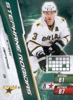 2010 11 Panini Adrenalyn XL Hockey #268 Stephane Robidas Dallas Stars NHL Trading Card Sports Collectibles