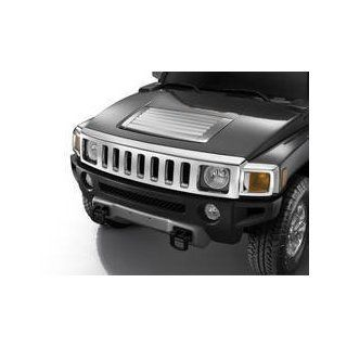 Hummer H3 Accessories   Chrome OEM Factory Replacement Hood Vent Deck Panel 2006, 2007, 2008, 2009, 2010 Automotive