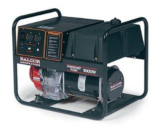Powerchief 5, 000 Watt Industrial Portable Generator With Honda Engine  Power Generators  Patio, Lawn & Garden
