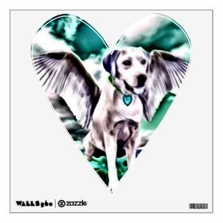 lil Angels Labrador Retriever Vinyl Stick On Wall Sticker