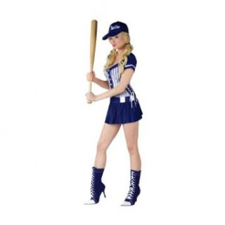 Baseball Uniform Costume Athletic Womens Sports Costume Adult Theatre Costumes Adult Sized Costumes Clothing
