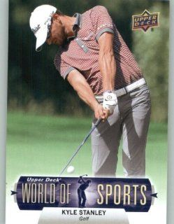 2011 Upper Deck World of Sports Baseball Trading Card #286 Kyle Stanley (Golf / PGA) Sports Collectibles