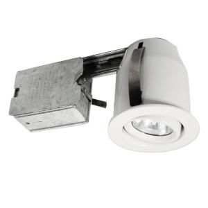 BAZZ 303 Series 3 in. White Halogen Recessed Lighting Kit 303 600