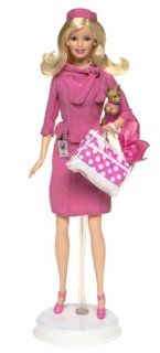 Barbie Legally Blonde 2 Red White and Blonde Barbie Doll as Elle Woods Toys & Games