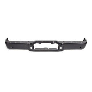 CarPartsDepot, Rear Bumper Step Face Bar Primed w/ Sensor Holes Assembly, 341 18259 20 BK FO1102360 8L3Z17906EPTM? Automotive