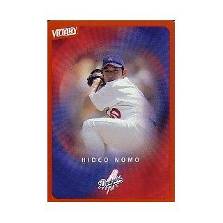 2003 Upper Deck Victory Tier 2 Orange #42 Hideo Nomo Sports Collectibles