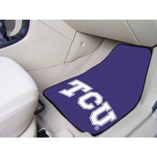 BSS   Texas Christian Horned Frogs NCAA Car Floor Mats (2 Front)