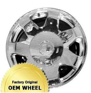 CADILLAC ESCALADE 17X7.5 7 SPOKE Factory Oem Wheel Rim  CHROME   Remanufactured Automotive