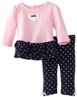 Hartstrings Baby Girls Newborn Long Sleeve 2 Piece Knit Tunic And Legging Infant And Toddler Pants Clothing Sets Clothing