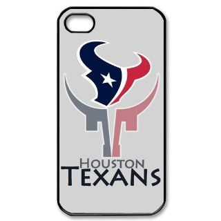 Icasesstore Nfl Houston Texans Iphone 4/4s New Design Case 1lb15 Cell Phones & Accessories