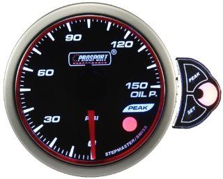 Prosport Gauges Halo Series Oil Pressure Gauge Automotive