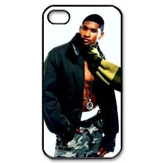 Usher Pop Star Cool Image Iphone 4,4s Case Plastic New Back Case Cell Phones & Accessories