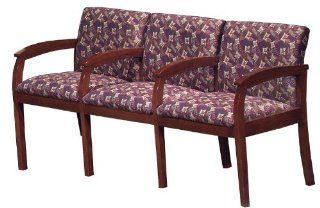 Carolina House Furniture CH 353 Triple Seat Guest Chair   32.75 H  Reception Room Chairs