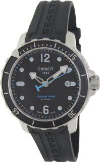 Tissot Seastar Automatic Black Dial Men's watch #T066.407.17.057.00 Watches