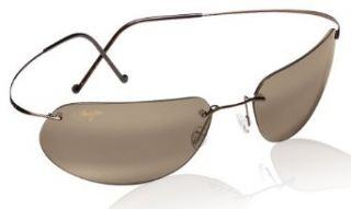 Maui Jim HO'OKIPA 407 sunglasses Gloss Black with HCL Bronze lenses Clothing